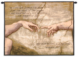 Creation of Adam Wall Tapestry