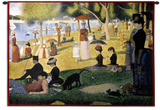 A Sunday on La Grande Jatte 1884, 1884-86 Wall Tapestry