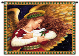 Angel Dove Wall Tapestry