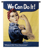Rosie the Riveter Wall Tapestry