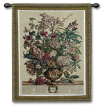 July Botanical Wall Tapestry