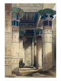 Illustration from a Collection Entitled The Holy Land, Syria, Idumea, Arabia, Egypt & Nubia