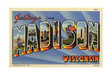Greeting Card from Madison, Wisconsin