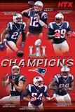 Super Bowl LI - Champions NFL: Dallas Cowboys- Ezekiel Elliott 2016 New England Patriots- Champions 17 NFL: Dallas Cowboys- Helmet Logo nfl