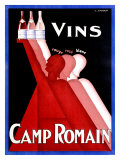 Camp Romain Giclee Print
