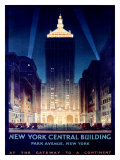 New York, Central Building, 1930 Giclee Print