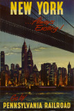 New York by Pennsylvania Railroad,