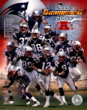 Patriots 2004 AFC Champions Team Composite
