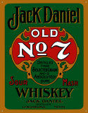 Jack Daniels Green Tin Sign