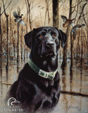 Ducks Unlimited Great Retrievers Tin Sign