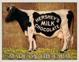 Hershey's Milk Chocolate Tin Sign