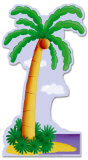 Palm Tree Lifesize Standup Cardboard Cutouts