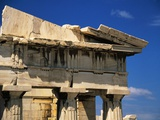 Corner Pediment of the Propylaia in the Acropolis