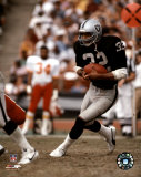 Marcus Allen - Black Uniform With Ball