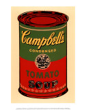 Campbell's Soup Can, 1965 (Green and Red) Kunstdruck