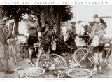 Tour de France, Drinkers Art Print