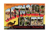 Greeting Card from Reynolds Park