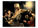 Buy Belshazzar's Feast circa 1636-38 at AllPosters.com