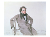 Franz Schubert (1797-1828), 1825 (W/C on Paper)