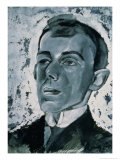 Portrait of the Poet Ossip Mandelstam (1891-1938)