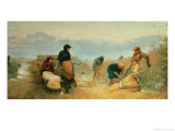 On the Fens, 1878 Giclee Print