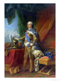 Louis XV (1715-74) King of France & Navarre, 1750