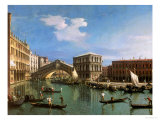 Buy The Rialto Bridge, Venice at AllPosters.com