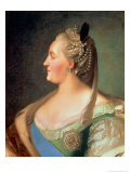 Portrait of Empress Catherine II the Great (1729-96), after 1763