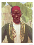 King Mutesa of Buganda, from a Photo