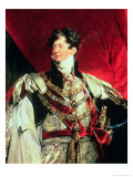 The Prince Regent, Later George IV (1762-1830) in His Garter Robes (Detil of 61203)