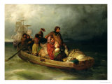 Emigrant Passengers on Board, 1851