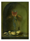 Still Life with Bread and Wine Glass