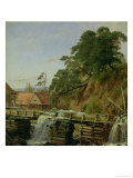A Watermill in Christiania, circa 1834