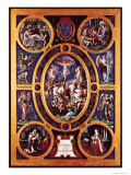 Altarpiece of Sainte-Chapelle, the Crucifixion, Enamelled by Leonard Limosin (1505-76) 1553