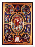 Altarpiece of Sainte-Chapelle, of the Resurrection, Enamelled by Leonard Limosin (1505-76) 1553