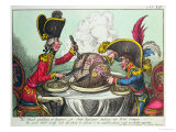 The Plum Pudding in Danger, 1805