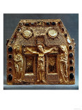 Reliquary of Pepin I (803-38) King of Aquitaine (Wood with Gold Inlaid with Precious Stones)