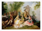 The Hunting Party Meal, circa 1737