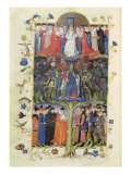 The Tree of Battles. King Charles VII (1403-61) Between the Dauphin, Future Louis XI (1423-83)