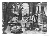 Flavio Gioia of Amalfi Discovering the Power of the Lodestone, Plate 3 from 
