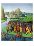 Battle Between the Maccabees and the Bacchides, Illustration from the French Translation