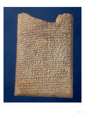 Portion of a Tablet Inscribed with the Legend of the Fight Between Marduk and Tiamat, BC