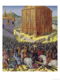 Siege of Jerusalem by Nebuchadnezzar, Illustration from the French Translation