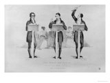 Carl Maria Von Weber (1786-1826) at Covent Garden Theatre Leading His Celebrated Opera