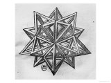 "Buy Dodecahedron, from ""De Divina Proportione"" by Luca Pacioli, Published 1509, Venice at AllPosters.com"