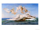 Birth of Venus, 1863 Giclee Print