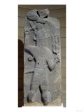 Stela of Teshub, Syrian Storm God, from Tell Ahmar, Syria (Basalt)
