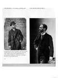 Two Portraits of George Eastman (1854-1932) 1884 and 1890