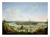 General View of Paris from the Chaillot Hill, 1818