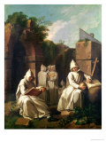 Carthusian Monks in Meditation